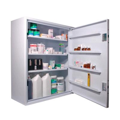 Drug Cabinet - Wall Mounted - 760mm x 865mm x 305mm