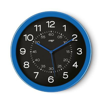 CEP Wall Clock - Black/Blue