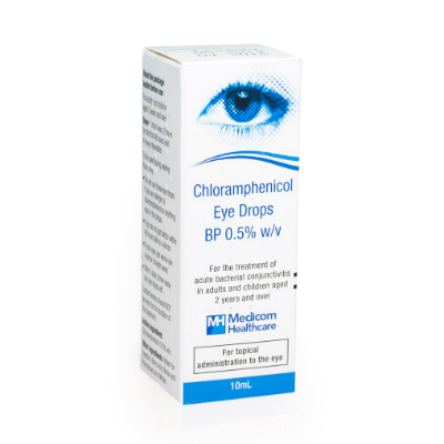 Chloramphenicol Eye Drops - 10ml *POM*