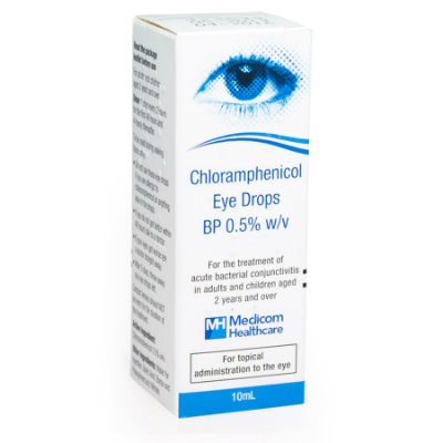 Chloramphenicol Eye Drops - 5ml *POM*