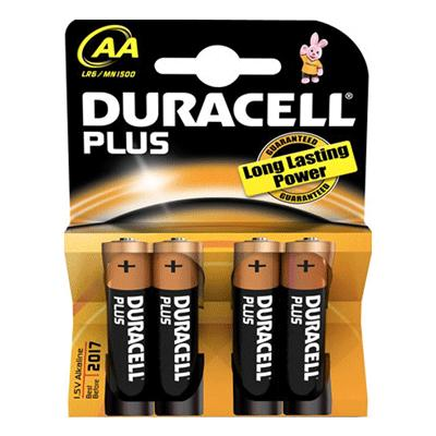 Duracell MN1500 - AA Battery (4)