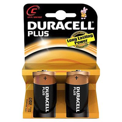 Duracell MN1400 - C Battery (2)