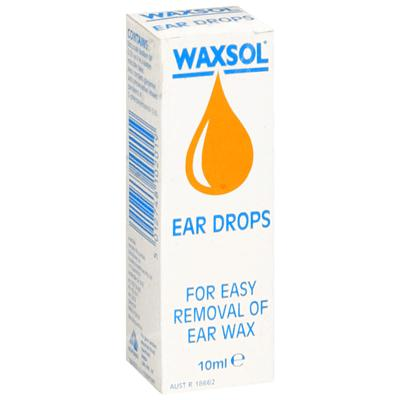 Waxsol Ear Drops - 10ml