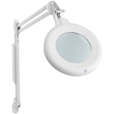 Slimline Magnifying Lamp with Table Clamp