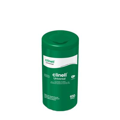 Clinell Universal Sanitising Wipes - Tub (100)