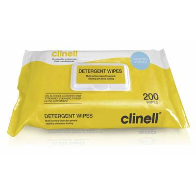 Clinell Detergent Wipes (215)