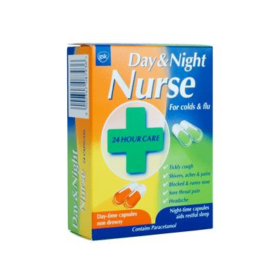 Day & Night Nurse Capsules (24) *P*
