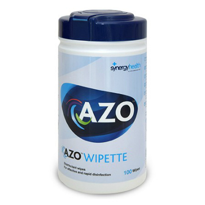 Azowipette Hard Surface Wipes (100)