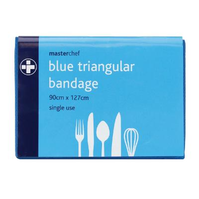 Blue Disposable Non-Woven Triangular Bandage (ORDER IN 10s)