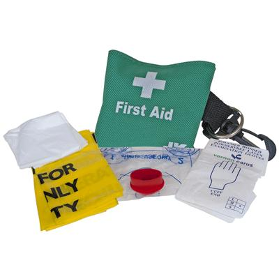 Resuscitation Kit in Nylon Pouch