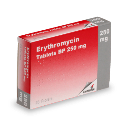 Erythromycin Tablets 250mg (28) *POM*