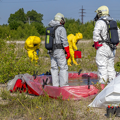 Chemical Decontamination Training
