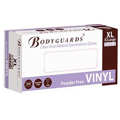 Powder Free Clear Vinyl Gloves - X Large (100)