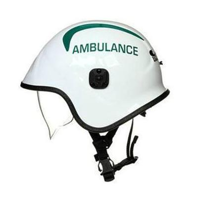 Helmet Lettering - Ambulance - Green