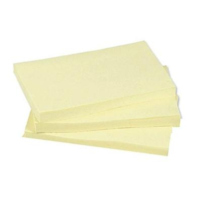 Plain Yellow Sticky Notes - 125 x 75mm (12)