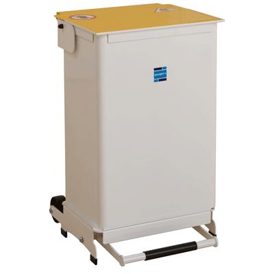 Kendal Waste Bin 50 Litre Removable Body - White Lid