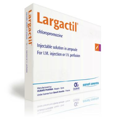 Largactil Injection - 2.5% - 50mg/2ml (10) *POM*