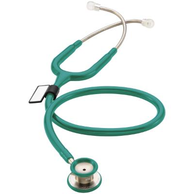 MDF MD One Stethoscope - Paediatric - OM/Aqua Green