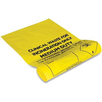 Clinical Waste Bags - 64cm x 34cm (1)