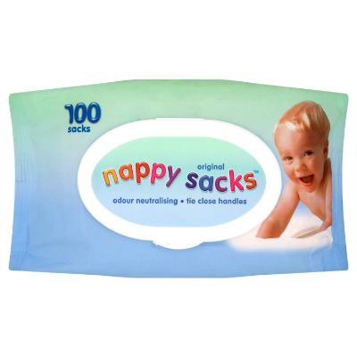Nappy Sacks Disp (100)