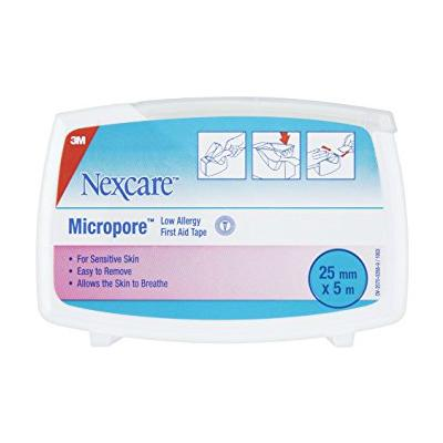 Nexcare Micropore Tape Dispenser - 2.5cm x 5m