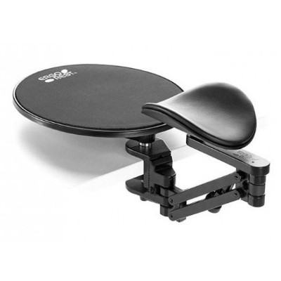 Ergorest With Mouse Pad, Standard Clamp, Arm & Pad