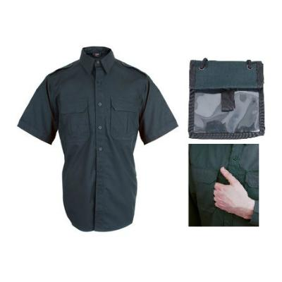Bastion Tactical Short Sleeve Shirt - Large - Midnight Green