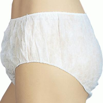 Unisex Disposable Briefs - Large (100)