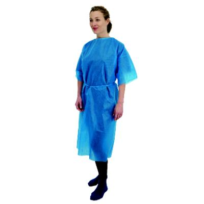 Premier Short Sleeve Gown - Blue (50)