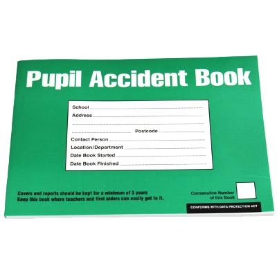 School Pupil Accident Book