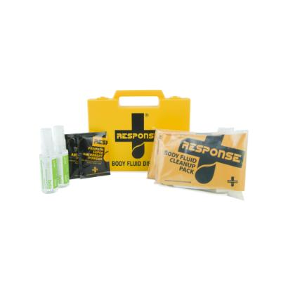 Response Body Fluid Kit with Visimask 2 Application in Case