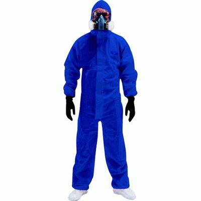 Candex Coverall - Blue - Large