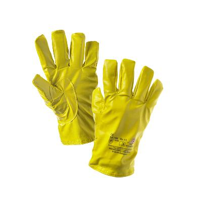 Nitrile Outer Liners - Yellow  - Medium