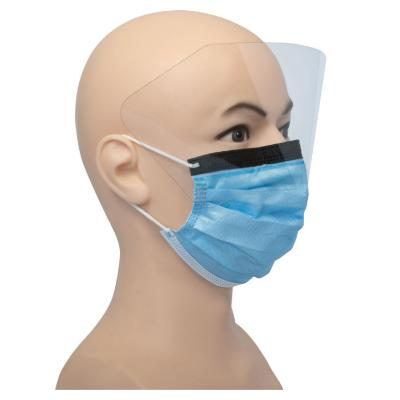 Disposable Face Mask with Visor (1)
