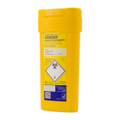 Sharps Disposal Container - 600ml