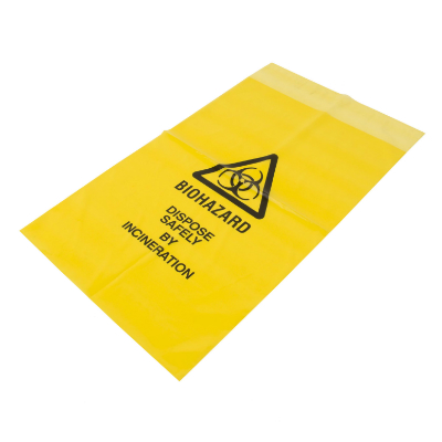 Biohazard Waste Bag - 30cm x 20cm (1)