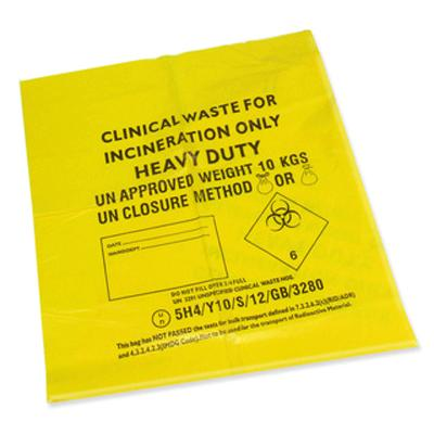 Clinical Waste Bag - Heavy Duty - 10kg (1)