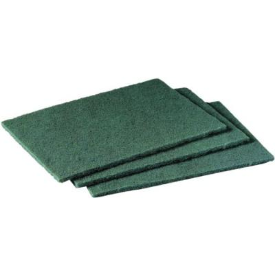 Green Scouring Pad  6 x 9 (10)