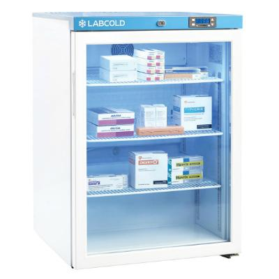 Labcold Pharmacy Fridge - 150 Litre - Glass Door