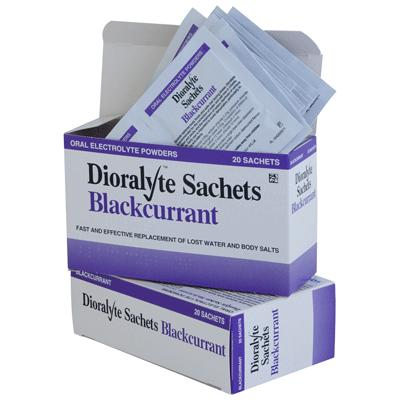 Dioralyte Sachets - Blackcurrant (20)