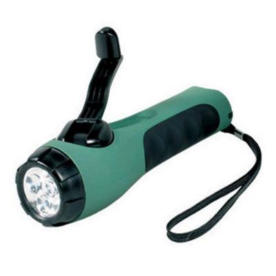 Cyba-Lite Wind Up LED Torch - Green