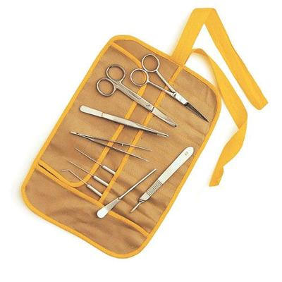 Dissecting Instrument Kit in Canvas Roll