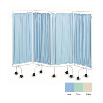 Polyester Screen Curtains - Beige (Set of 4)