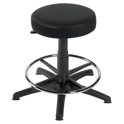 Sunflower Gas-lift Stool with Glides & Foot Ring