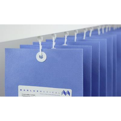 Universal Disposable Wide Curtains - Summer Blue - 1.8m