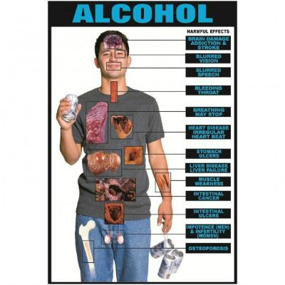 Poster Harmful Effects Alcohol