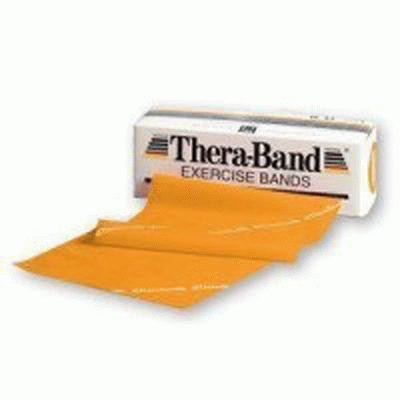 Thera-Band Resistive Exerciser Red Medium 5.5m