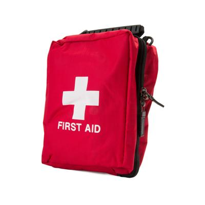 Red First Aid Bag - 190mm x 120mm x 80mm