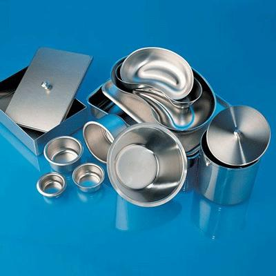 Stainless Steel Instrument Tray - 20cm x 15cm x 1.8cm